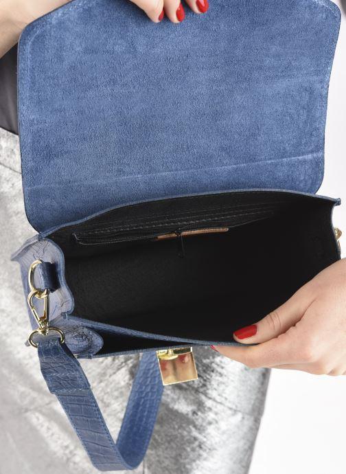 Håndtasker Georgia Rose Macroco Leather Blå se bagfra