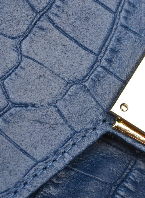 Borse Georgia Rose Macroco Leather Azzurro immagine sinistra