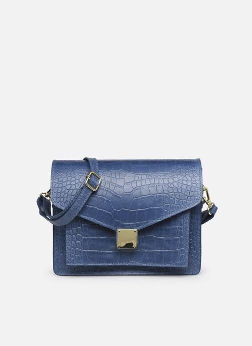Sacs à main Georgia Rose Macroco Leather Bleu vue détail/paire