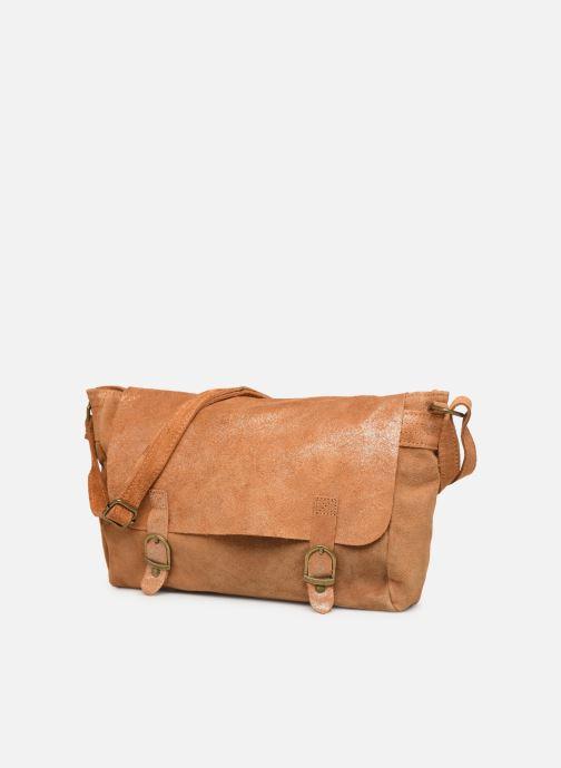Handtassen Georgia Rose Mabesace Leather Bruin model