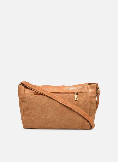 Håndtasker Georgia Rose Mabesace Leather Brun se forfra