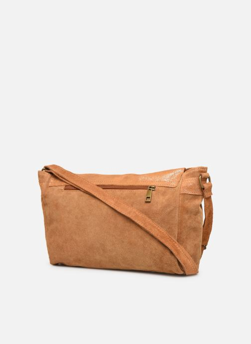 Handbags Georgia Rose Mabesace Leather Brown view from the right
