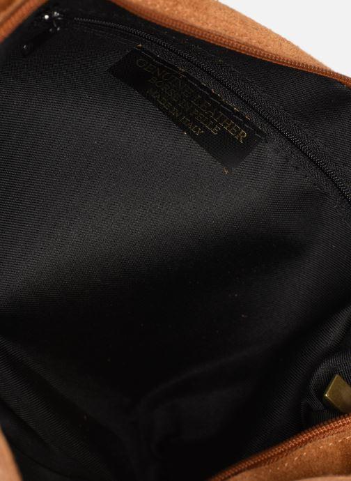 Handtassen Georgia Rose Mabesace Leather Bruin achterkant