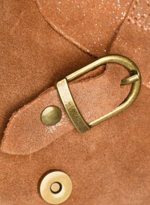 Handtassen Georgia Rose Mabesace Leather Bruin links