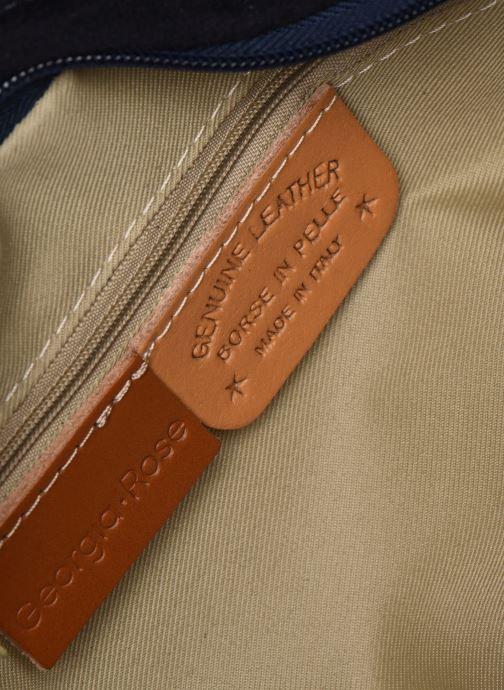 Borse Georgia Rose Mabesace Leather Azzurro immagine posteriore