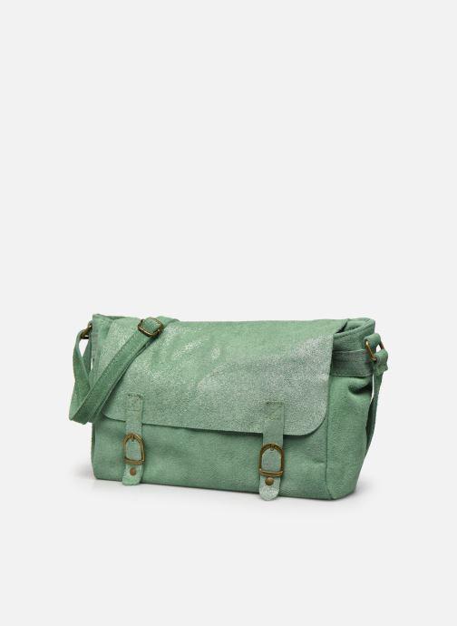 Handtassen Georgia Rose Mabesace Leather Groen model