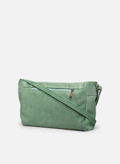Handtassen Georgia Rose Mabesace Leather Groen rechts