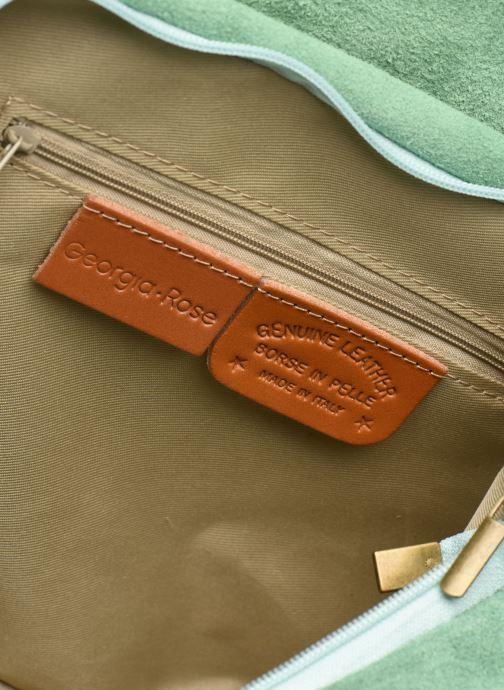 Handtassen Georgia Rose Mabesace Leather Groen achterkant