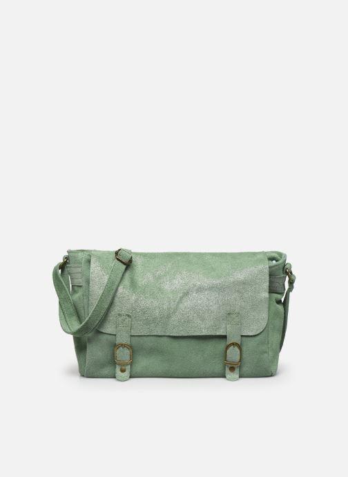 Handtassen Georgia Rose Mabesace Leather Groen detail