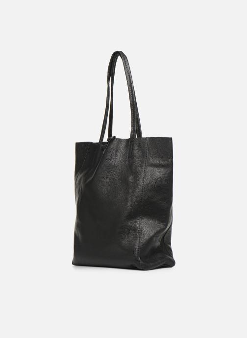 Handtaschen Georgia Rose Moncabas Leather schwarz schuhe getragen