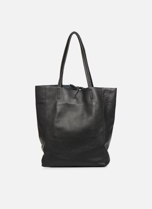 Handtaschen Georgia Rose Moncabas Leather schwarz ansicht von vorne