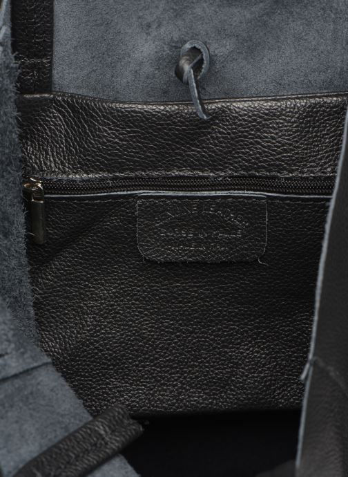 Handtassen Georgia Rose Moncabas Leather Zwart achterkant