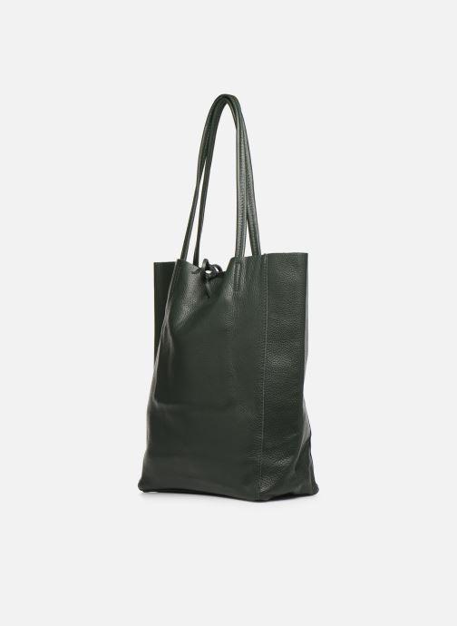 Handtaschen Georgia Rose Moncabas Leather grün schuhe getragen