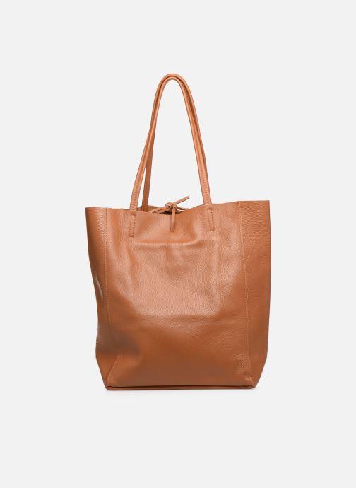 Håndtasker Georgia Rose Moncabas Leather Brun se forfra