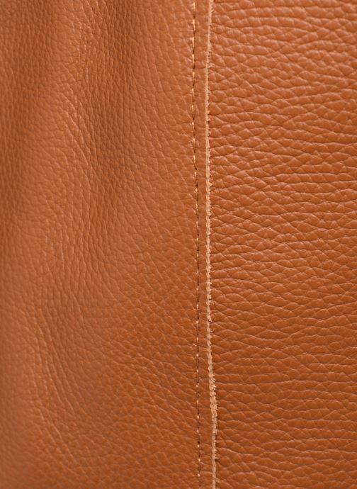 Handtassen Georgia Rose Moncabas Leather Bruin links