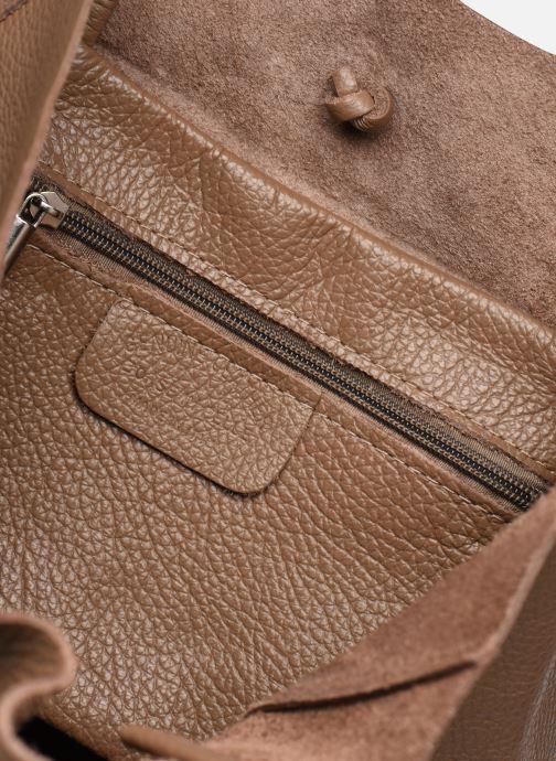 Sacs à main Georgia Rose Moncabas Leather Marron vue derrière