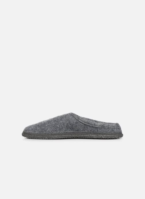 Chaussons Giesswein Coby Gris vue face
