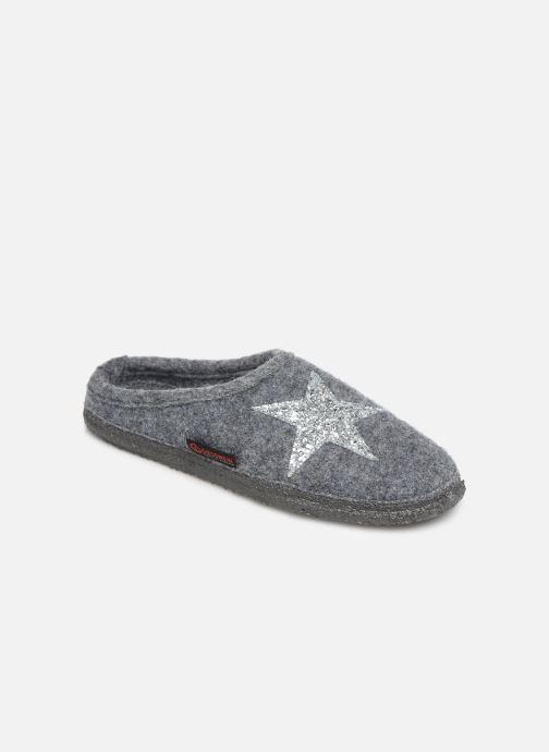 Hjemmesko Giesswein Coby Grå detaljeret billede af skoene