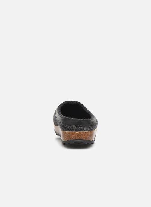Hausschuhe Giesswein Chamerau grau ansicht von rechts