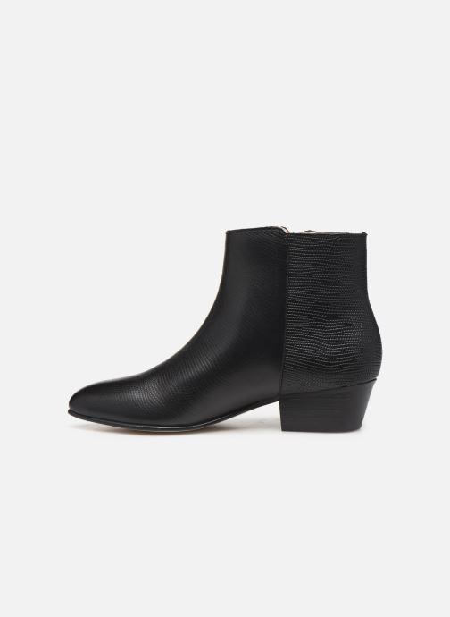 Bottines et boots Georgia Rose Silvana Noir vue face