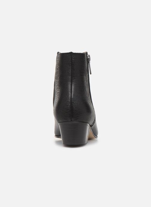 Bottines et boots Georgia Rose Silvana Noir vue droite