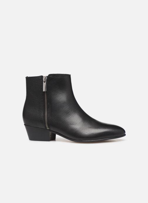 Bottines et boots Georgia Rose Silvana Noir vue derrière
