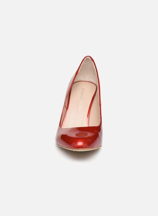Escarpins Georgia Rose Santana Rouge vue portées chaussures
