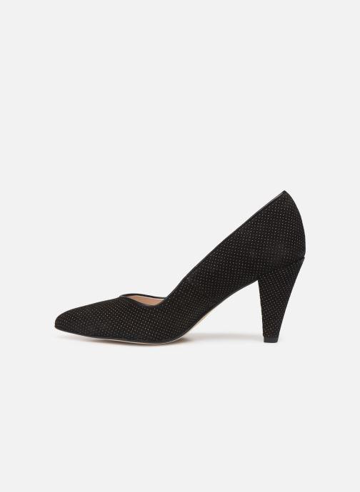 Zapatos de tacón Georgia Rose Sostrata Negro vista de frente