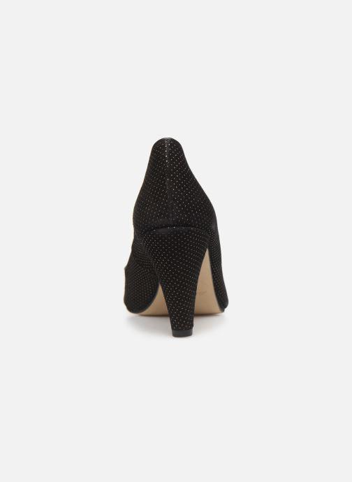 Zapatos de tacón Georgia Rose Sostrata Negro vista lateral derecha