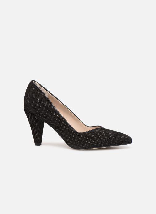 Zapatos de tacón Georgia Rose Sostrata Negro vistra trasera