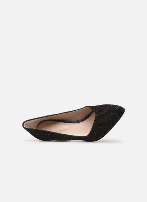 Zapatos de tacón Georgia Rose Sostrata Negro vista lateral izquierda