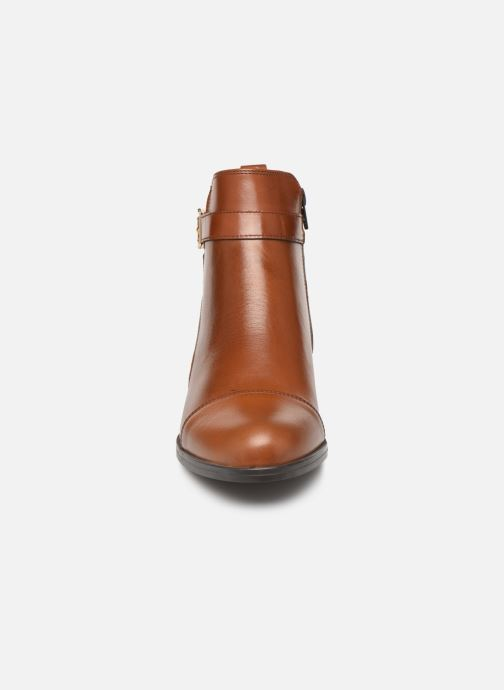 Bottines et boots Georgia Rose Litya Marron vue portées chaussures