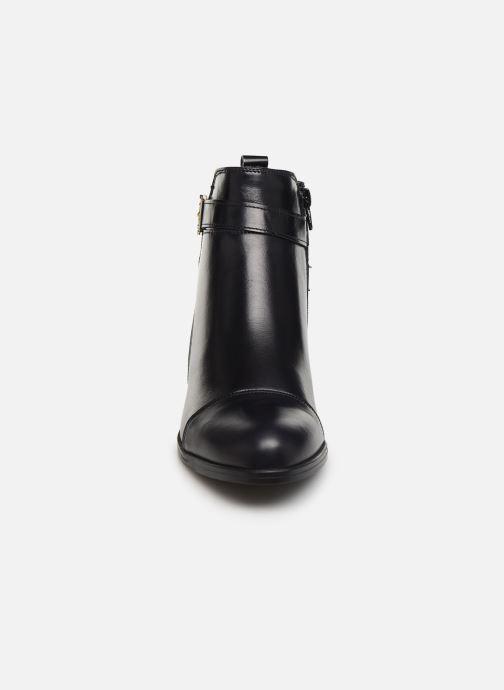 Bottines et boots Georgia Rose Litya Bleu vue portées chaussures