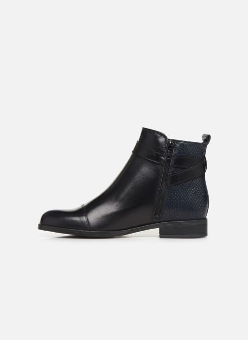 Bottines et boots Georgia Rose Litya Bleu vue face