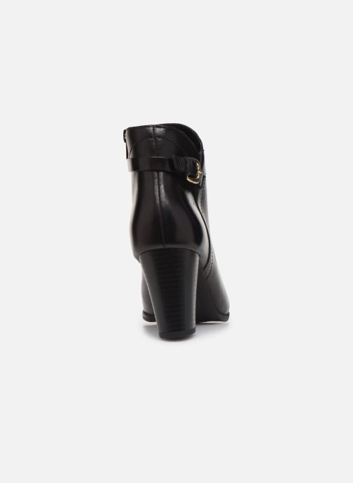 Bottines et boots Georgia Rose Lerica Noir vue droite