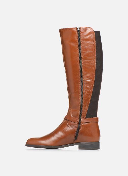Støvler & gummistøvler Georgia Rose Limonian Brun se forfra