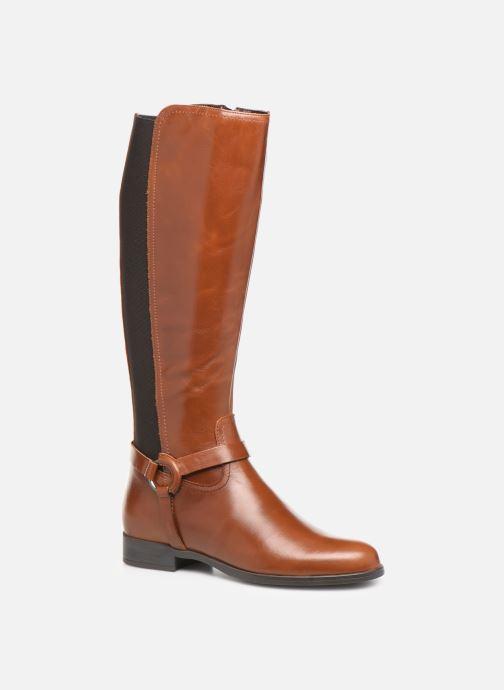 Støvler & gummistøvler Georgia Rose Limonian Brun detaljeret billede af skoene