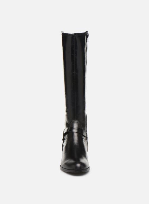Bottes Georgia Rose Limonian Noir vue portées chaussures