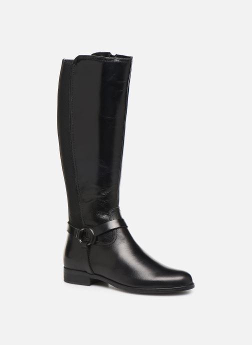 Støvler & gummistøvler Georgia Rose Limonian Sort detaljeret billede af skoene