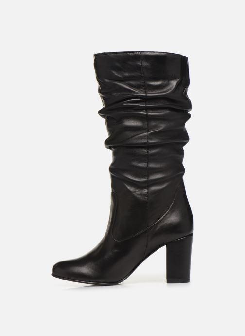 Støvler & gummistøvler Georgia Rose Lapliza Sort se forfra