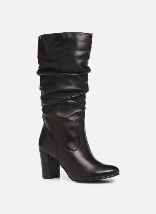 Støvler & gummistøvler Georgia Rose Lapliza Sort detaljeret billede af skoene