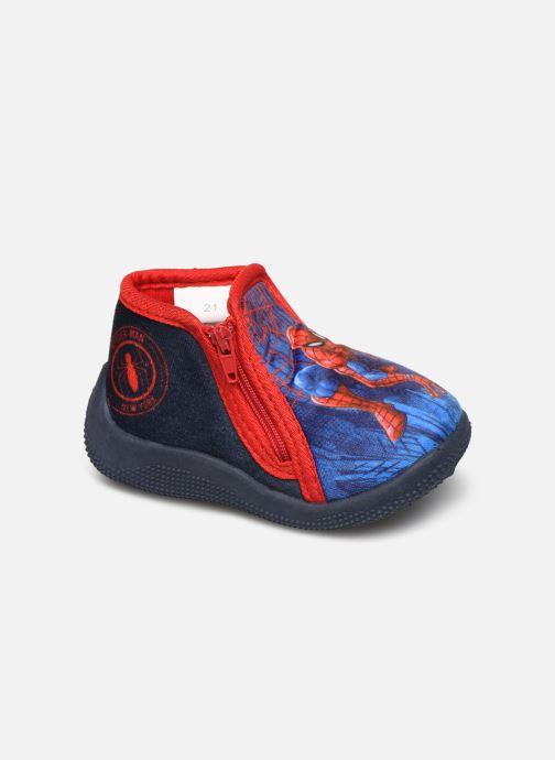 Hjemmesko Spiderman Sicilien Blå detaljeret billede af skoene