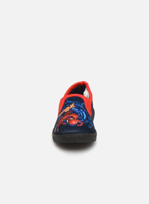 Hausschuhe Spiderman Signe blau schuhe getragen