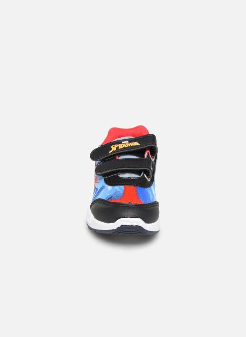 Sneaker Spiderman Navalo blau schuhe getragen