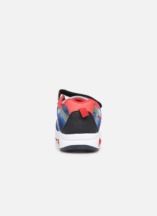 Sneaker Spiderman Navalo blau ansicht von rechts