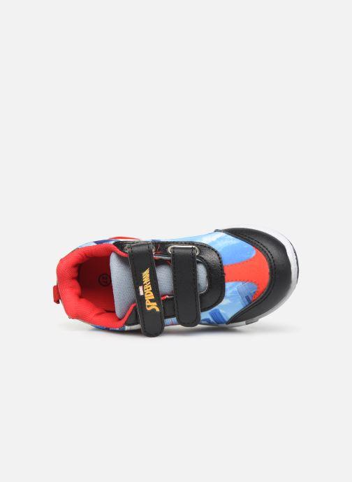 Sneaker Spiderman Navalo blau ansicht von links