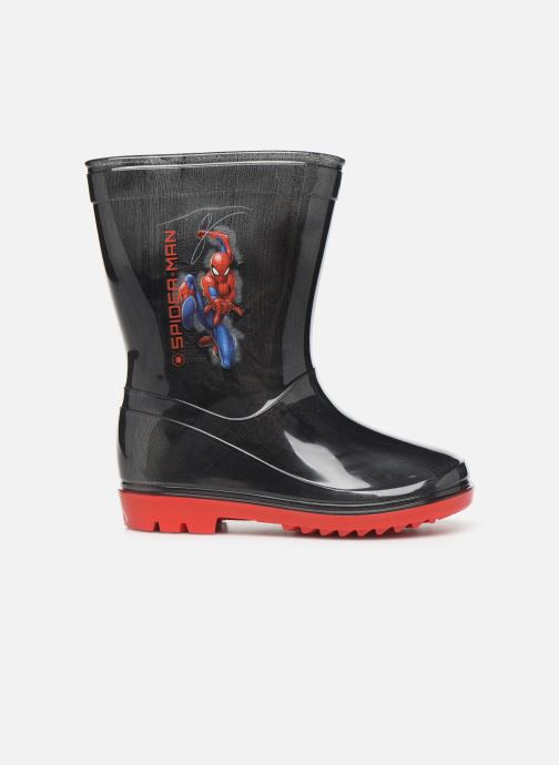 Stiefel Spiderman Spitz schwarz ansicht von hinten