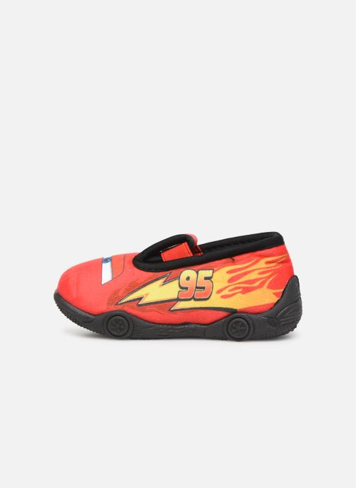 Chaussons Cars Speedy Rouge vue face