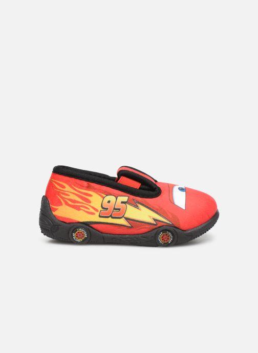 Chaussons Cars Speedy Rouge vue derrière