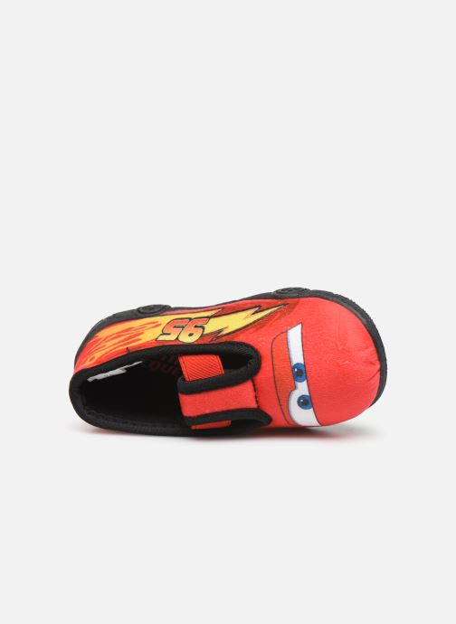 Chaussons Cars Speedy Rouge vue gauche